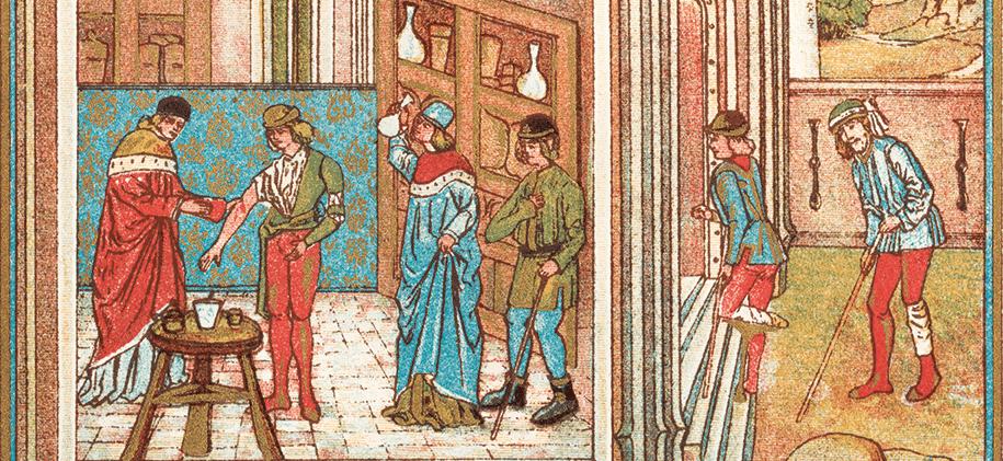 Aderlass nach Hildegard v. Bingen