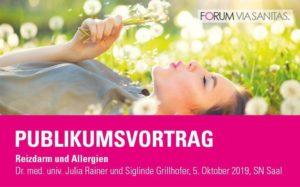 Vortrag: Reizdarm und Allergien @ Saal der Salzburger Nachrichten
