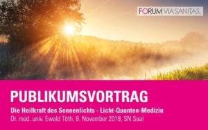 Vortrag: Die Heilkraft des Sonnenlichts @ Saal der Salzburger Nachrichten