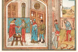 Aderlass nach Hildegard von Bingen